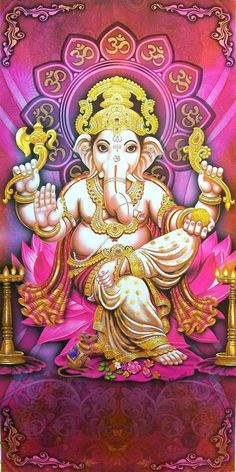 Make this Ganesha Chathurthi 2020 special with rituals and ceremonies. Lord Ganesha is a powerful god that removes Hurdles, grants Wealth, Knowledge & Wisdom. Jai Ganesh, Ganesh Lord, Lord Shiva, Shree Ganesh, Shiva Art, Ganesha Art, Hindu Art, Baby Ganesha, Ganesha Painting