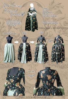 My Rococo Dress by Debi-Chiru.deviantart.com on @deviantART