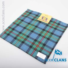 Smith Ancient Tartan Pocket Square. Free worldwide shipping available