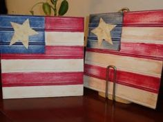 lots of cute 4th of July crafts from Six Sisters