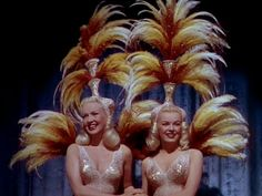 """Betty Grable and June Haver, """"The Dolly Sisters"""" (1945)"""