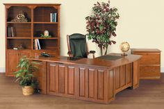Contemporary Collection Executive Office Suite
