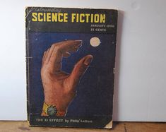 Vintage Science Science Fiction/Phillip Latham/old Books Vintage Fur, Vintage Tins, Vintage Glassware, Vintage Books, Color Magic, Vintage Art Prints, Mid Century Art, Fiction Books, Online Thrift