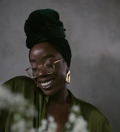 One of the four to be featured in @aceandtate's Seeing colour campaign . Teacher don't teach me nonsense - colour makes the Earth spin, know thy roots. Thank you @galdemzine for such a cute day & @livslittle 🖤 Obviously what a moment to share with the amazing photographer @kezcoo 🌿 Swipe to view the video settings by @nxsh 💚 People With Glasses, Slytherin Aesthetic, Like Image, The Four, Real Friends, Photography Women, Head Wraps, Black Women, Hair Makeup