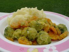 Mrkev s kapustou a kefírovou bramborovou kaší