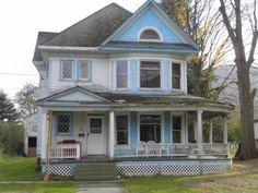 This grand old Victorian has great bones and perfect for that someone who has always dreamed of owning one of these unique and charming homes. She is full of character and beautiful original woodwork throughout, but needs some TLC to bring her back to the splendor of a bygone era. Downstairs has a formal entry with open staircase, built-in bench, and pocket door leading to the parlor; living room has a set of pocket doors leading to a formal dining room; dining room has a swing door and ...