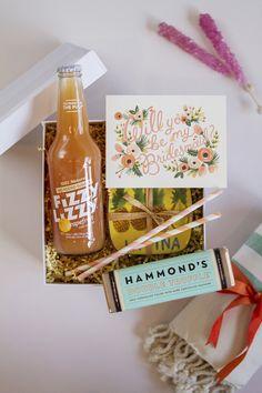 DIY Will You Be My Bridesmaid Box