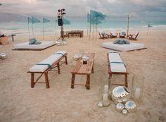 beach wedding set up Wedding Lounge, Beach Wedding Reception, Wedding Set Up, Wedding Place Cards, Destination Wedding, Dream Wedding, Wedding Ideas, Beach Weddings, Wedding Receptions