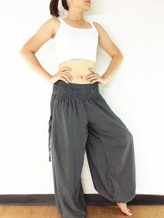 Women Harem Pants Yoga Pants Aladdin Pants Maxi by NaughtyGirlShop
