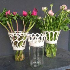 printer design printer projects printer diy Arts&Craft Arts&Craft Vase to screw on jam jars # # # [more pics o. 3d Printing Business, 3d Printing Diy, Impression 3d, 3 D, Diy 3d, Mason Jar Flowers, 3d Printed Jewelry, Clay Mugs, Hand Built Pottery