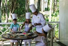 Kids Cooking Classes at The Residence, #Mauritius