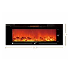 Touchstone The Sideline™ - Recessed Electric Fireplace (#80004)