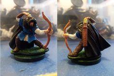 Una de mis primera miniaturas pintadas,  Mason Thornwarden de Reaper Miniatures