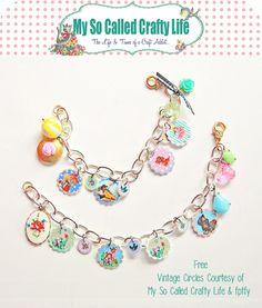 Shrinky Dink Charm Bracelet!!