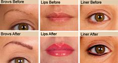 1000 images about permanent makeup on pinterest for Lip tattoo cost