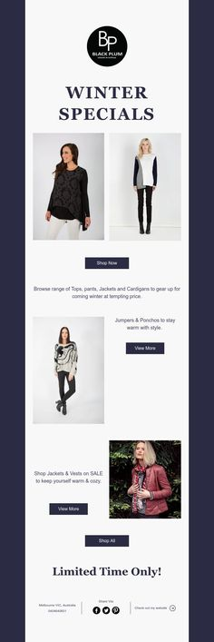 Shop #jumper #cardigan #coatsjacketsvests #pants now on SALE. Prices starting low as $29.95 for boutique clothing. Shop online with free shipping over $50 only in AU & NZ. Black Plum, Vest Jacket, Warm And Cozy, Boutique Clothing, Jumper, Shop Now, Free Shipping, Winter, Pants