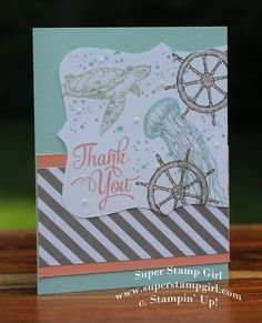 Stampin' Up! From Land to Sea