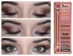 """5 Urban Decay """"Naked 3"""" Palette Looks!"""