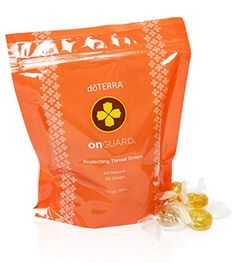 doTERRA OnGuard Cough drops with the power of OnGuard. Not your typical cough drop Doterra Essential Oils, Essential Oil Blends, Doterra Onguard, Best Amazon Products, Pure Products, Six Bag, Scratchy Throat, Natural Cleanse, Flu