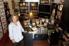 Ask Santa for a craft room....a whole post on craft rooms with many different ideas and styles