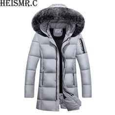 2019 40 Degree Men'S Russia Winter Jacket Mens Fur Collar Thicken Parkas Hooded Casual Down Cotton Padded Brand Outwear Coats AW44 From Bairi, $78.07   DHgate.Com Russia Winter, Mens Fur, Chinese Man, Man Down, Down Parka, Cotton Pads, Fur Collars, Hoods, Winter Jackets