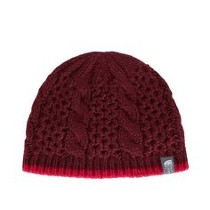 v15.gr-Cable Minna Beanie, Deep Garnet Red-The North Face