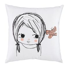 Pillow Girl Butterfly