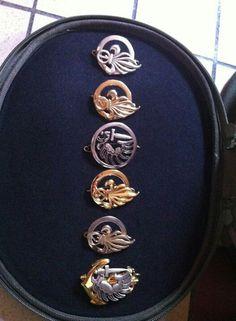 My friend Manuel's insigna. French Foreign Legion