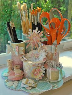 Art of Paper Floristry Craft Caddy