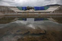 The canoe and kayak facility was the first in Olympic history to be filled with salt water rather th... - REUTERS/Yorgos Karahalis