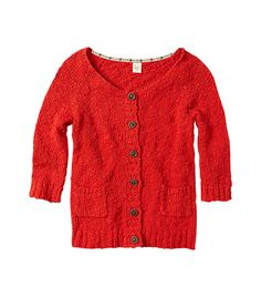 Anthropologie Anora Cardigan ($88) in Red
