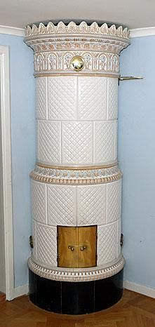Swedish Stove circa 1900...would adore one of these!