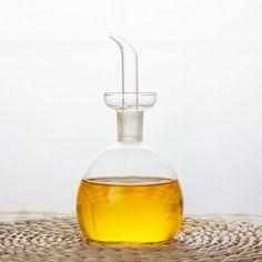 125ml/250ml/500ml Capacity Olive Oil Vinegar Pourer Glass Bottle Seasoning Cook Condiment Cruet Dispenser