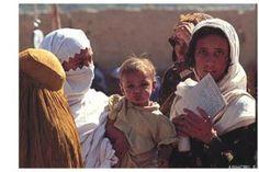 Mulheres refugiadas