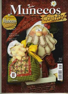 Book Crafts, Crafts To Do, Hobbies And Crafts, Craft Books, Christmas Patchwork, Sewing Magazines, Christmas Books, Felt Toys, Pattern Books