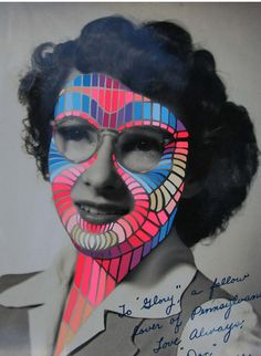 """april deacon - """"new neon"""" show This is a perfect Inspiration for the GCSE question on Disguises"""