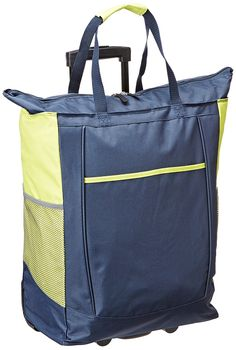 Travelers Choice  U.S. Traveler Rolling Shopper Tote with PVC Free Removable Leak Proof Liner >>> You can get additional details at the image link. (This is an Amazon Affiliate link and I receive a commission for the sales)