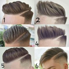 hair and beard styles Frisuren - Cool Hairstyles For Men, Haircuts For Men, Hairstyle Ideas, New Hair Cut Style, Short Hair Cuts, Short Hair Styles, Gents Hair Style, Hair Barber, Undercut Hairstyles