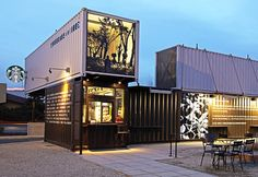Shipping Container Starbucks in WA .... I need to GO!