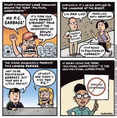 Cartoon: On political correctness