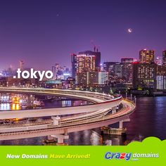 If you're in the fast lane from L.A. to Tokyo make sure you're fancy with your #Tokyo web domain www.crazydomains.com/?tld=tokyo&pipromo  #japan #東京 #webdomains