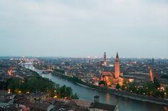 L'Adige da Castel San Pietro, Verona - 2012 Foto di Alba Rigo