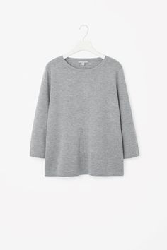 COS image 19 of Top with layered back in Grey