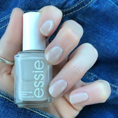 Essie Spring Collection 2018 'Pass-port to Sail' is the perfect Essie sheer nude polish!!!