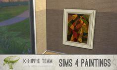 Paintings I classiKa I Vol.2 by k-hippie via tech-hippie.com I Sims 4 I TS4 I Maxis Match I MM I CC