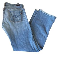 "Citizens of Humanity Kelly size 30 Citizens of Humanity Kelly Stretch Bootcut jeans size 30.  These jeans have been shortened to an inseam of 30.5"". Citizens of Humanity Jeans Boot Cut"