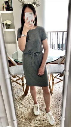 Banana Republic Factory Knit T-Shirt Dress, size PXXS