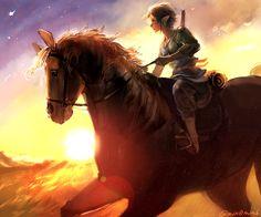 The Legend of Zelda: Twilight Princess, Link and Epona / 「ゼルダの伝説まとめ(再投稿)」/「梟」の漫画 [pixiv] [02]