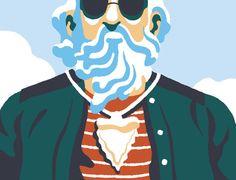 Bruno Mangyoku - Talkie Walkie Art Et Illustration, Character Illustration, Nautilus, Talk To Me, Illustrators, Art Drawings, Design Inspiration, Styles, Gouache