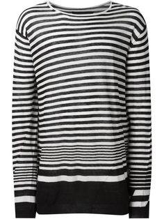 HAIDER ACKERMANN Striped Sweater. #haiderackermann #cloth #sweater